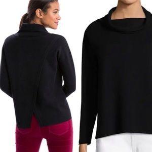 Vineyard Vines wool blend split back sweater